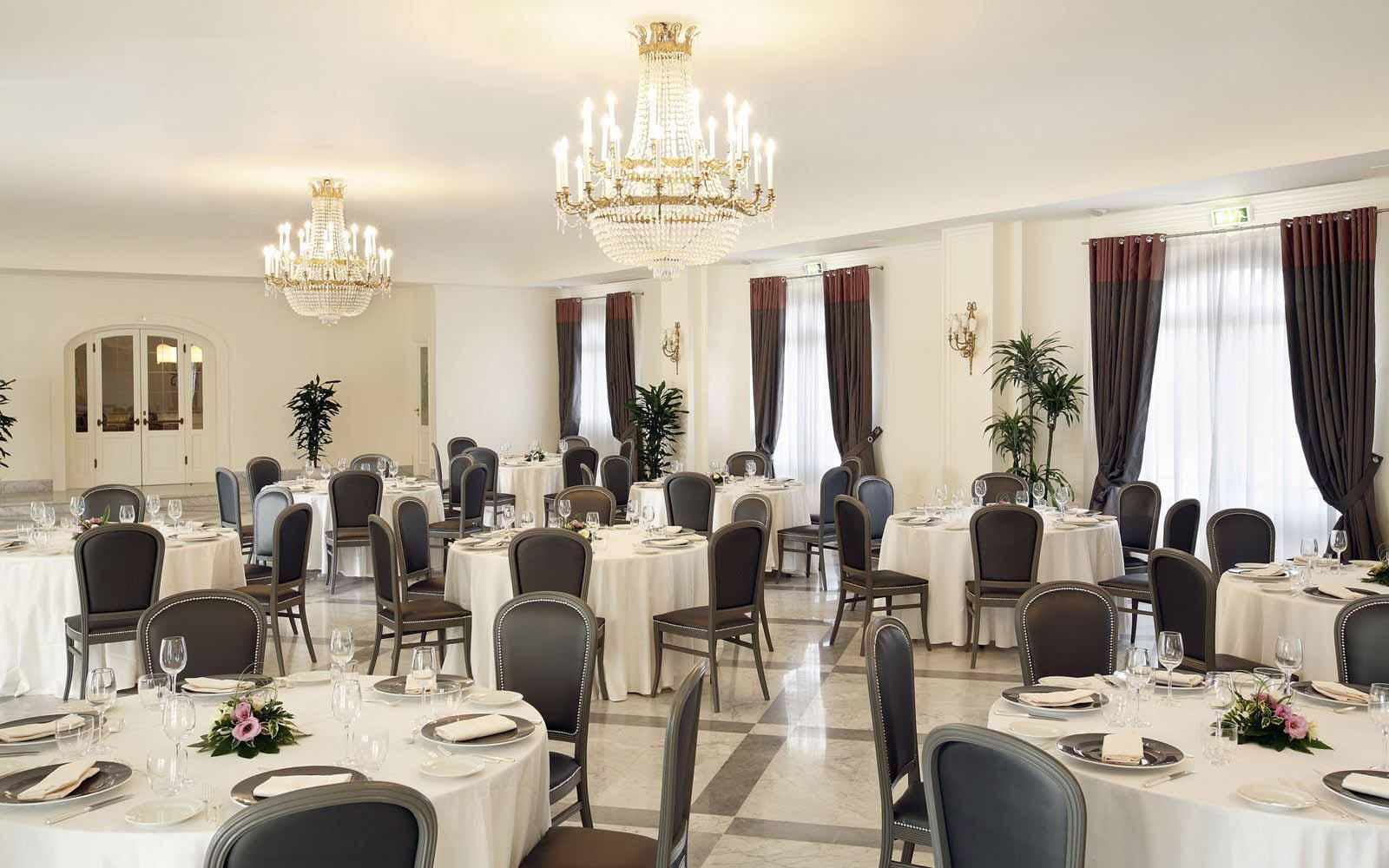 Restaurant at Hotel Giardino di Costanza
