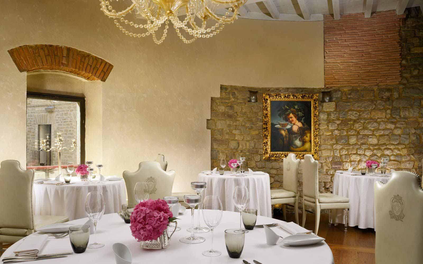 Santa Elisabetta restaurant at Hotel Brunelleschi