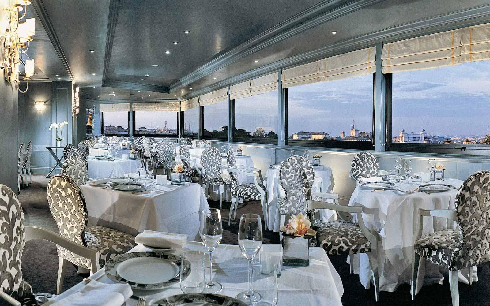 La Terrazza restaurant at Hotel Eden