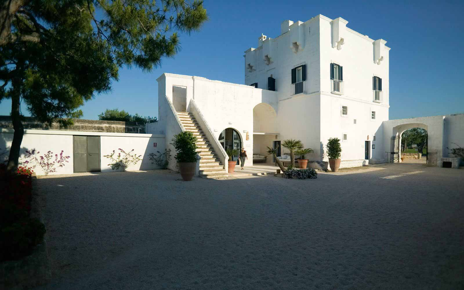Exterior at Masseria Torre Maizza