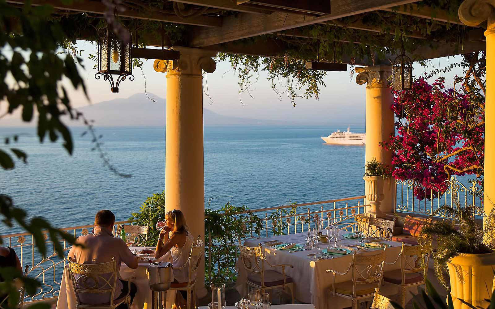 La Pergola Restaurant at Hotel Bellevue Syrene