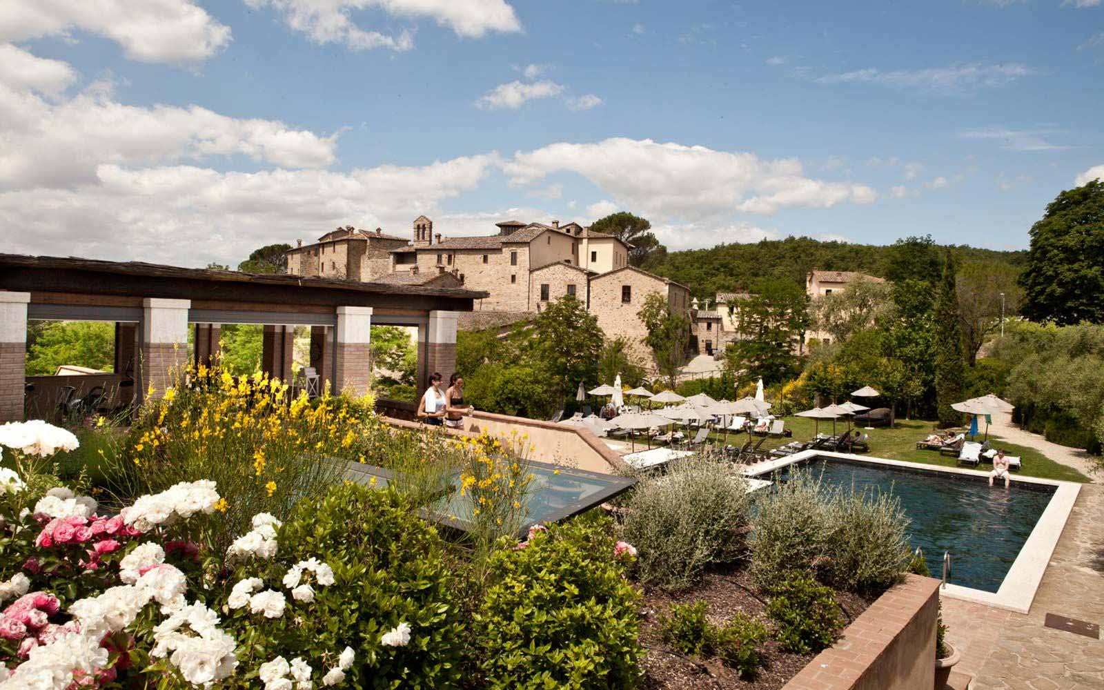 Gym and Pool at Castel Monastero Tuscan Resort & Spa