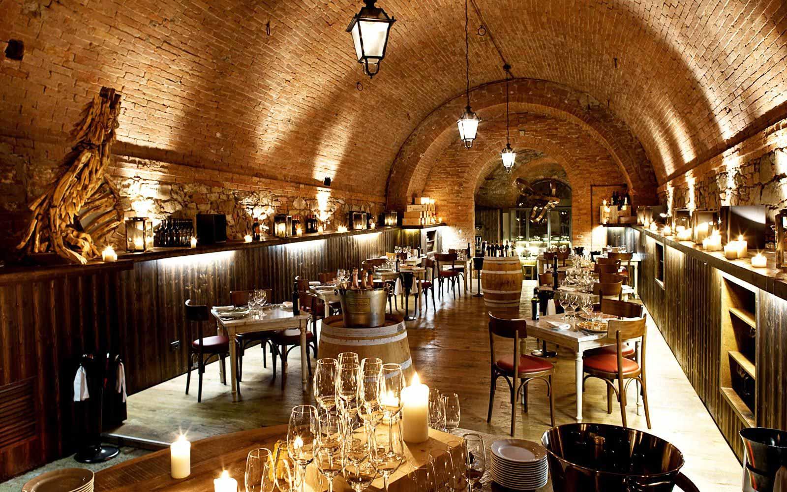 La Cantina Restaurant at Castel Monastero Tuscan Resort & Spa