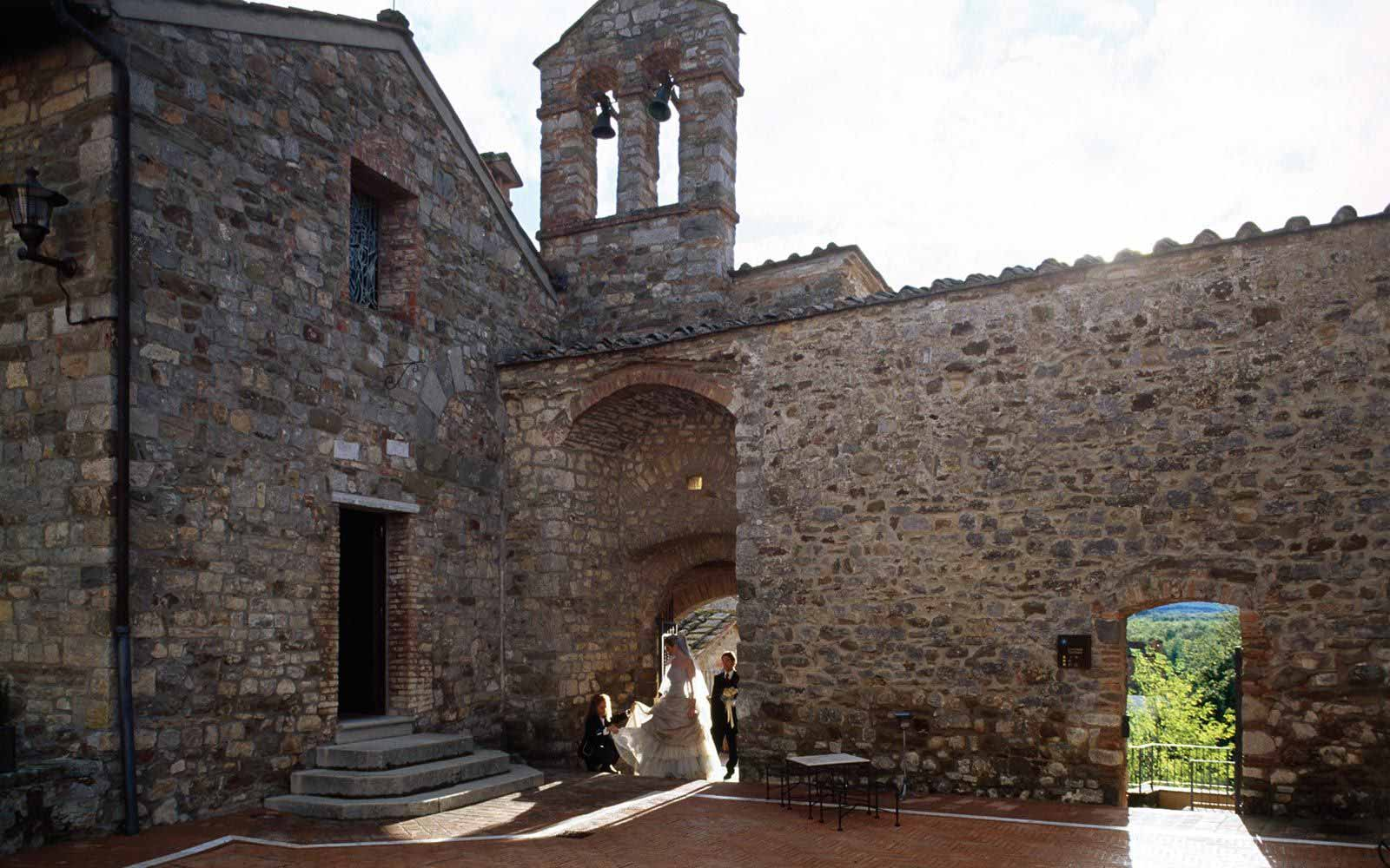 Wedding at Castel Monastero Tuscan Resort & Spa