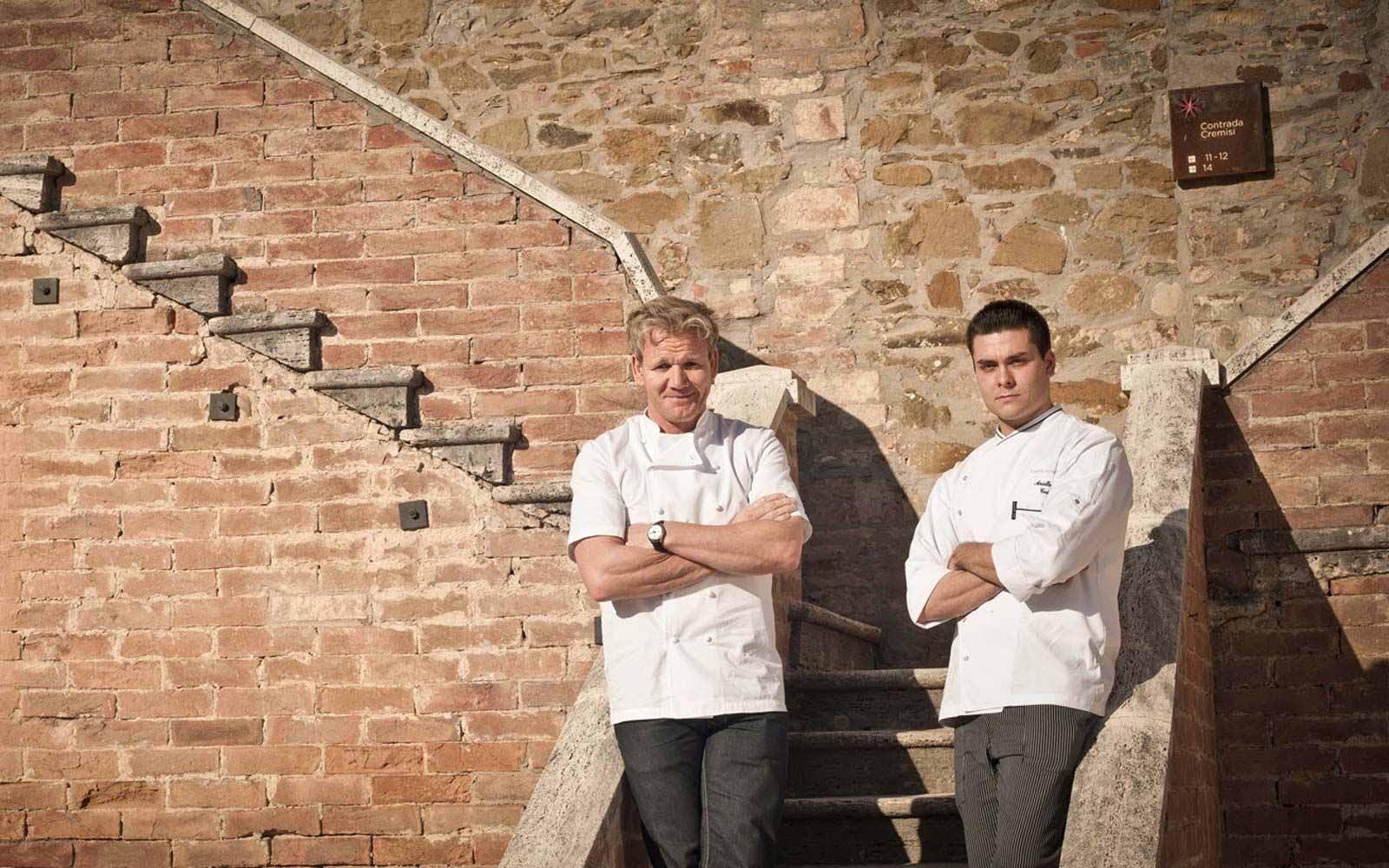 Cuisine of Gordon Ramsay and Nello at Castel Monastero Tuscan Resort & Spa