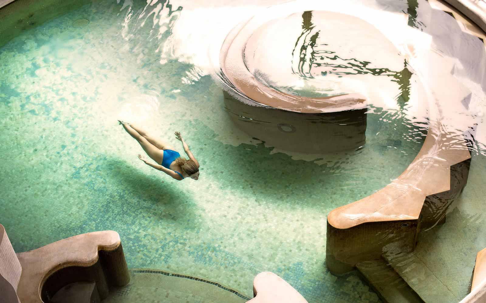 Fonteverde Natural Spa Thermal Bioaquam pool