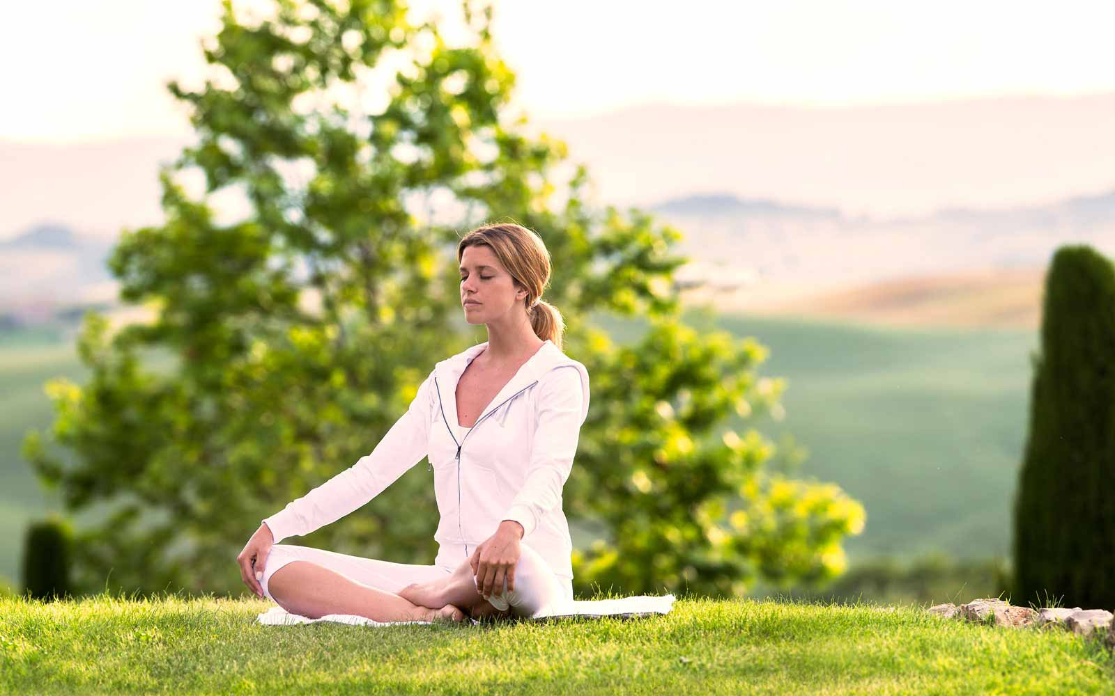 Relax and Yoga at the Fonteverde