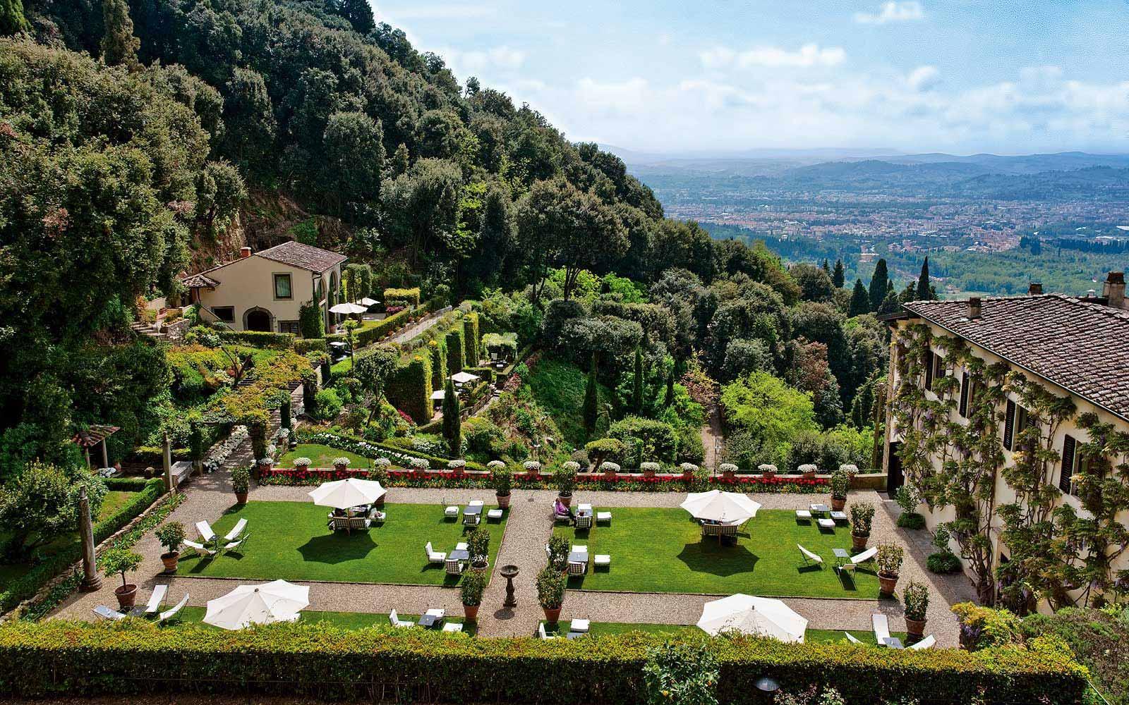 Gardens at Belmond Villa San Michele