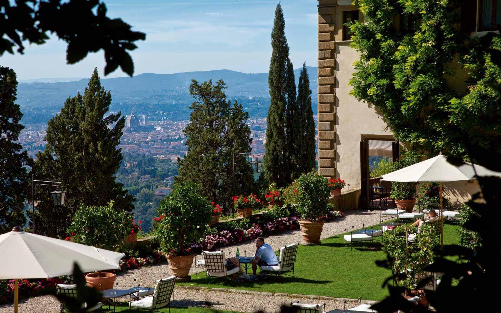 View from the Belmond Villa San Michele
