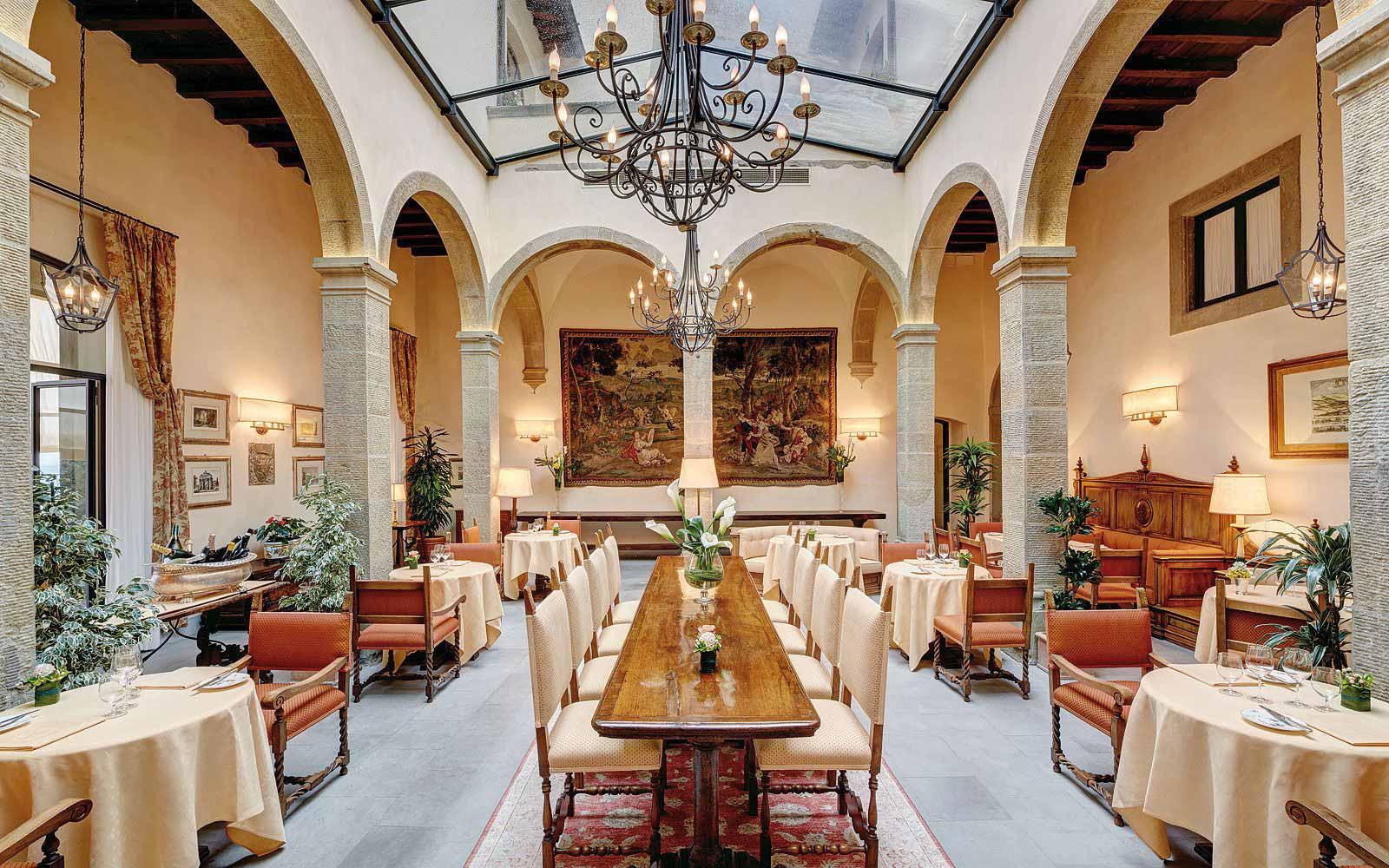La Loggia Restaurant at Belmond Villa San Michele