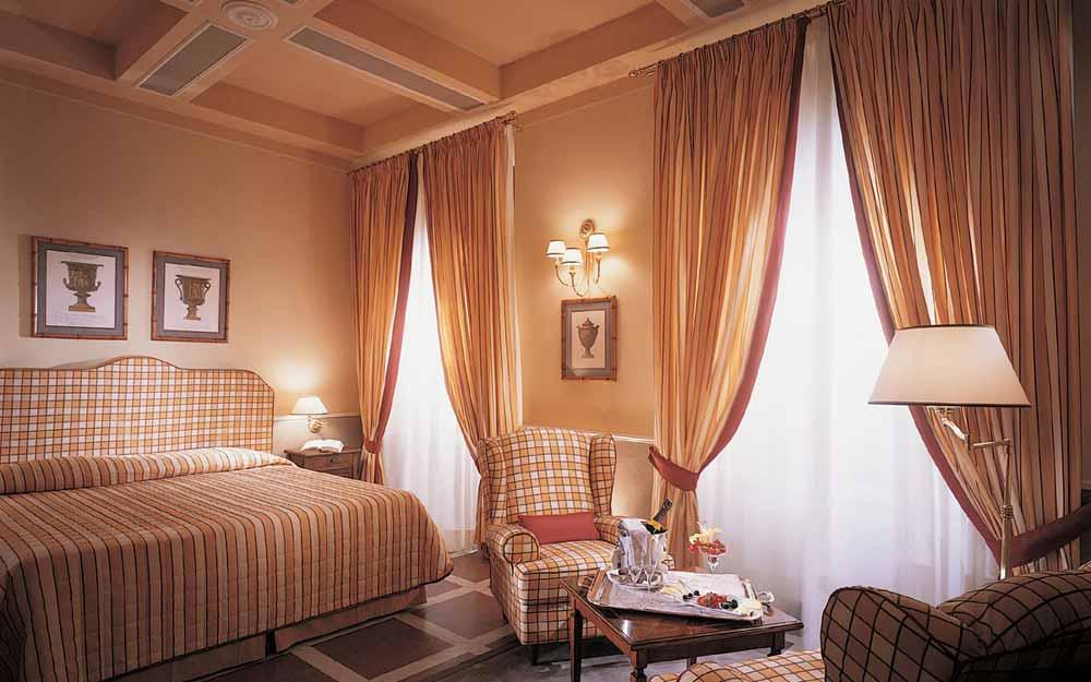 Deluxe room at Bagni di Pisa