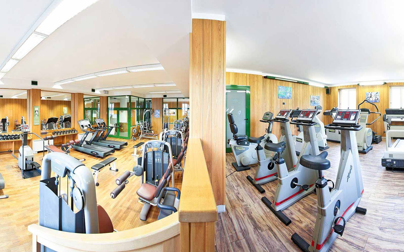 Gym at Grand Hotel Villa Serbelloni