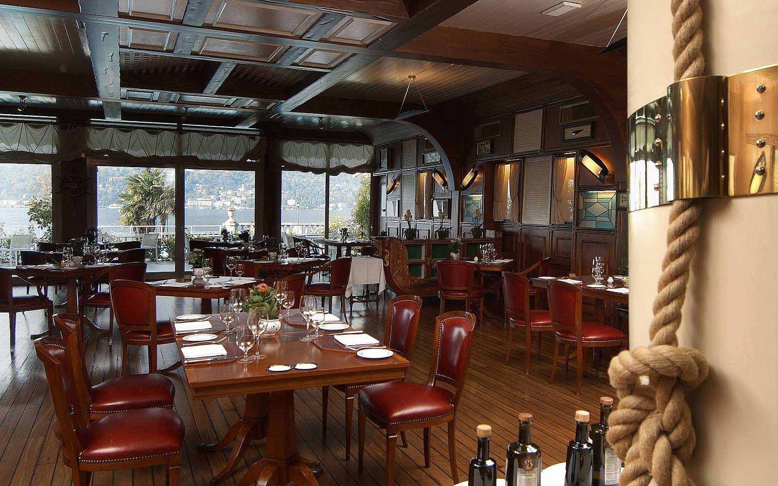 La Goletta Restaurant at Grand Hotel Villa Serbelloni