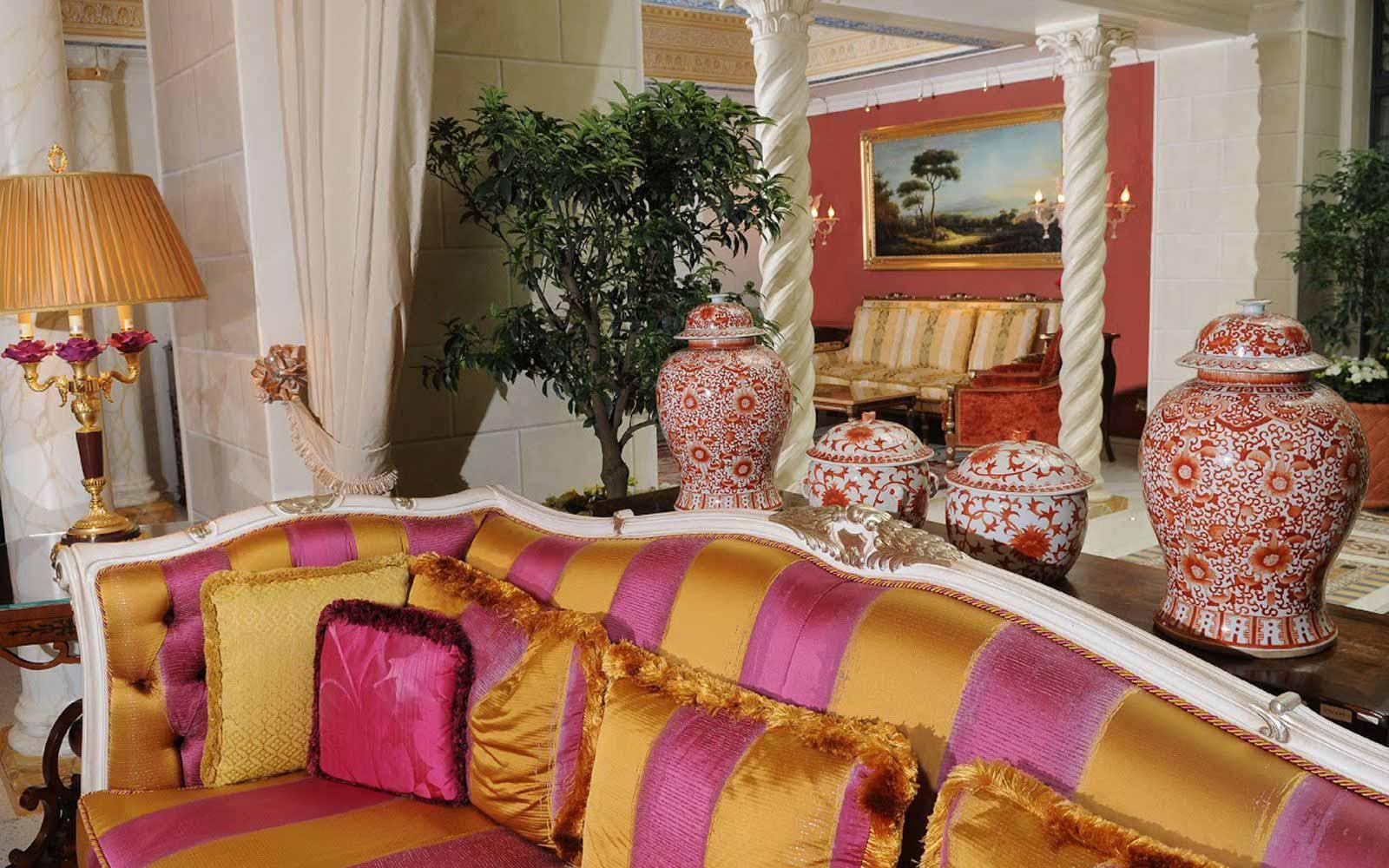 Lounge at Villa e Palazzo Aminta