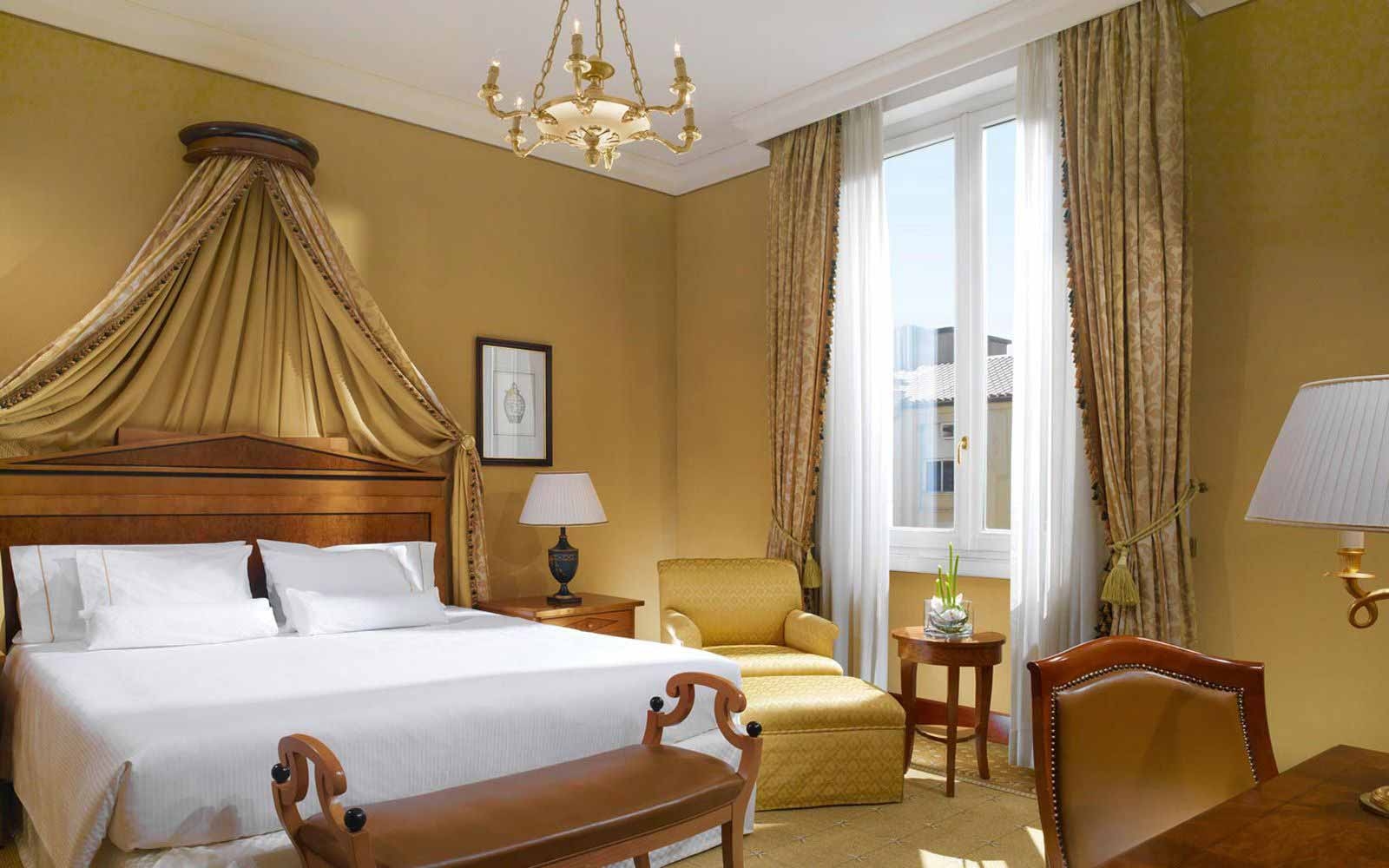 Deluxe room at The Westin Excelsior