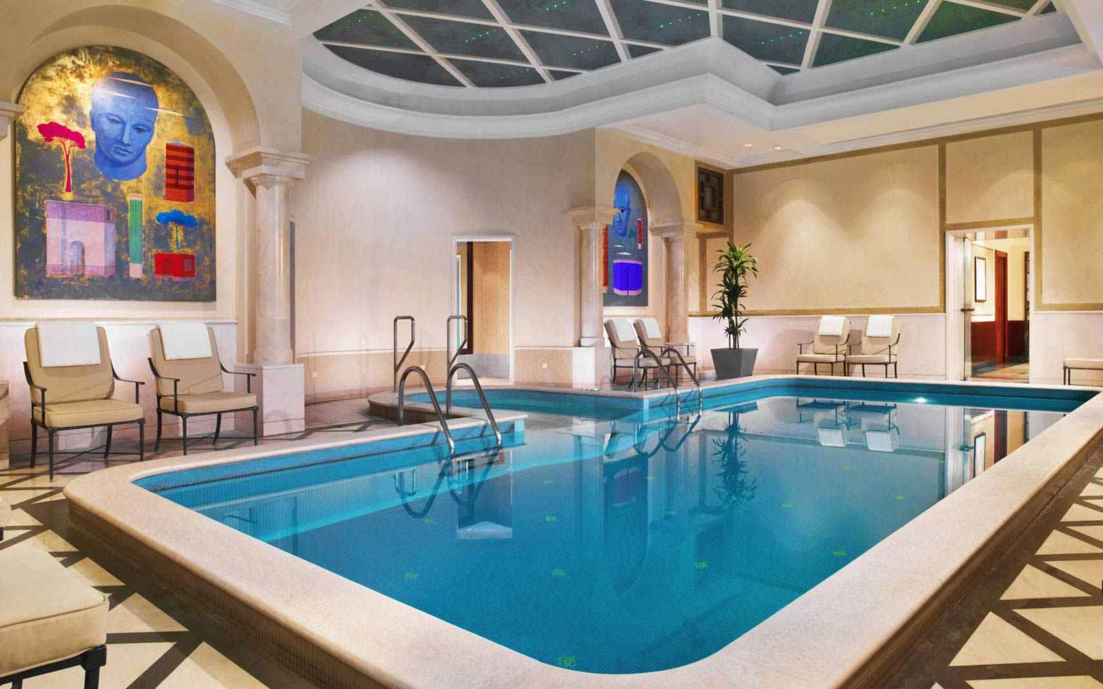 Indoor pool at The Westin Excelsior