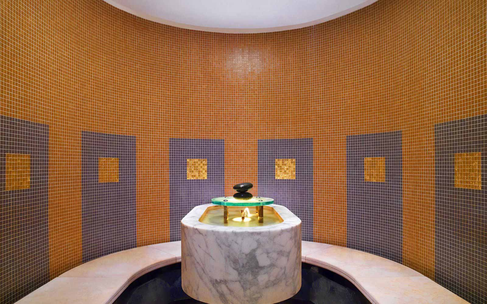 Turkish bath at The Westin Excelsior