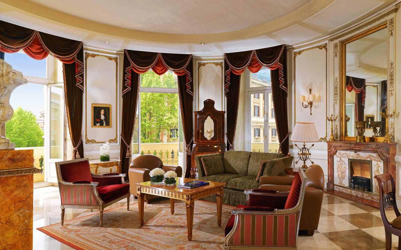Via Veneto suite at The Westin Excelsior