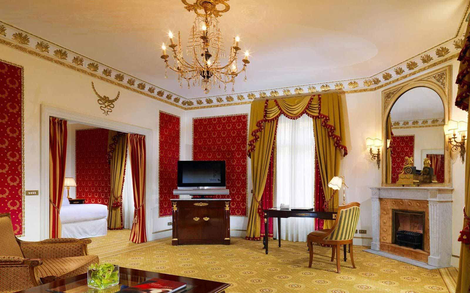 Junior suite at The Westin Excelsior