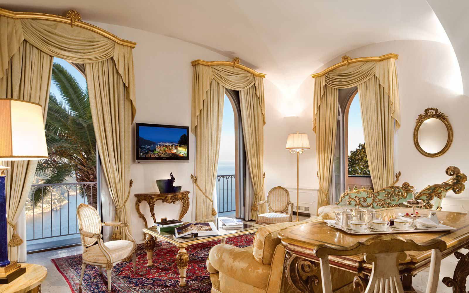 Orizzonte Suite at Palazzo Avino