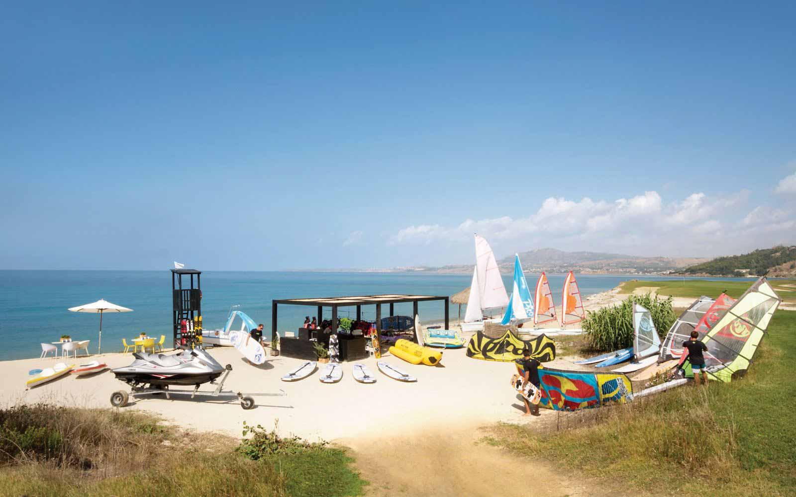Verdura Resort Water sport club