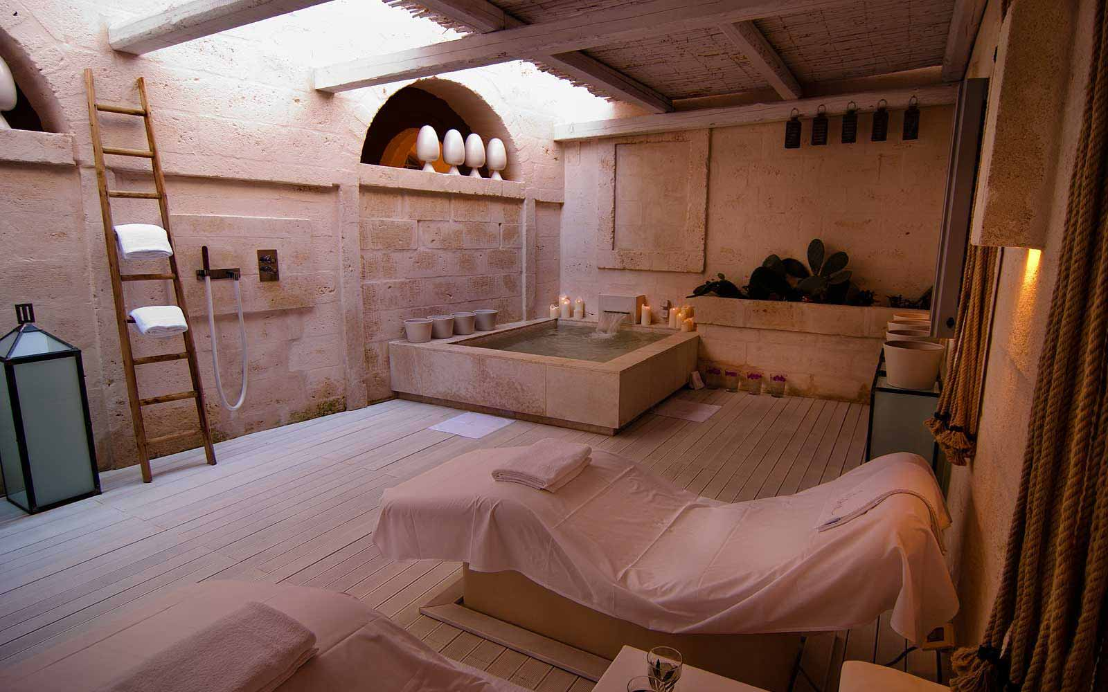 Vair Spa at the Borgo Egnazia