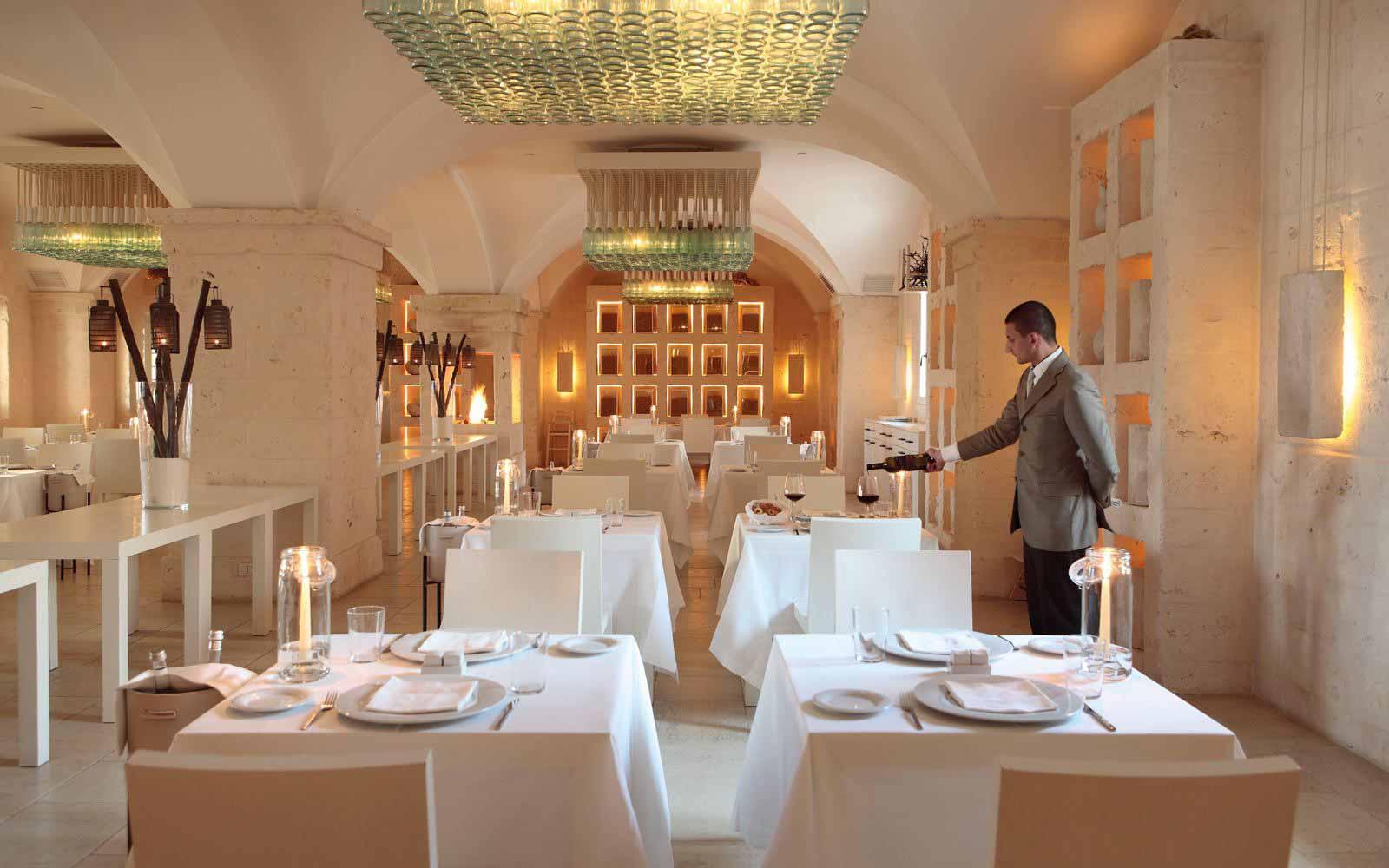 Due Camini Restaurant at Borgo Egnazia