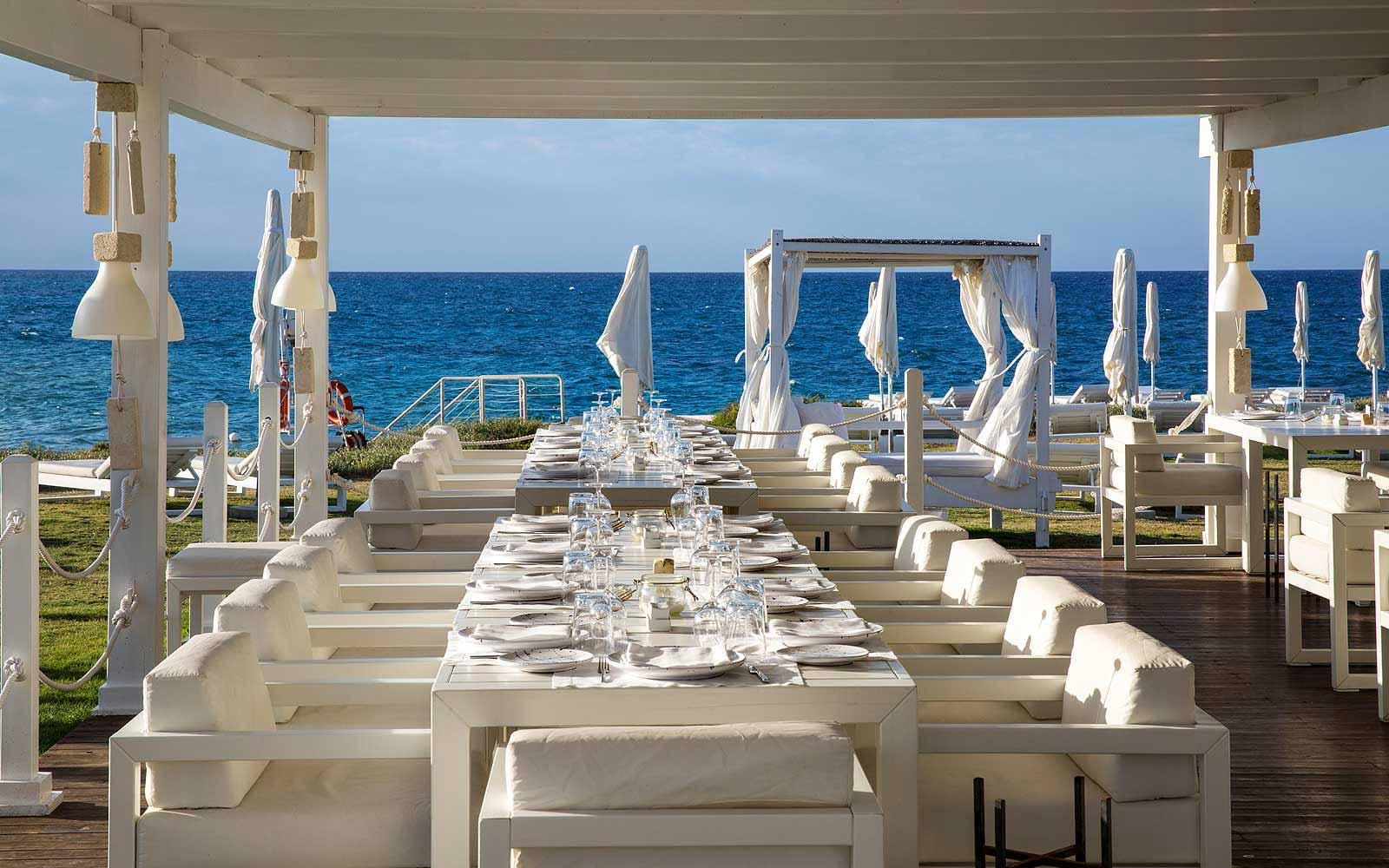 Pescheria Da Vito Restaurant by Cala Masciola Beach at the Borgo Egnazia