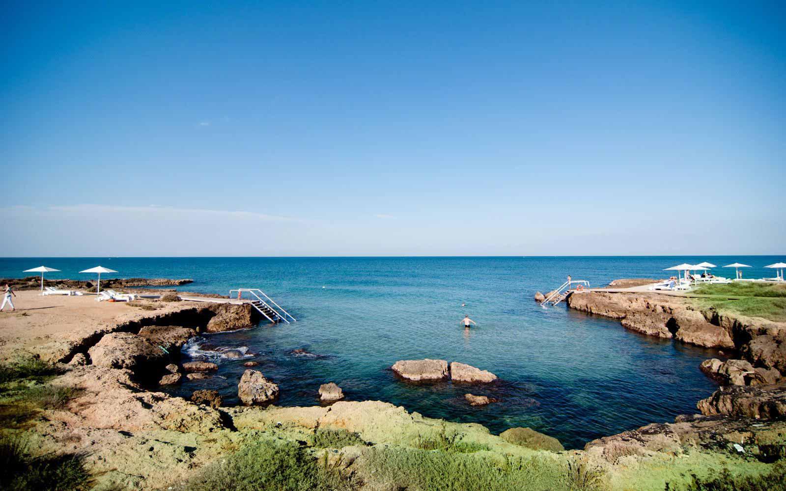 Cala Masciola Beach at Borgo Egnazia