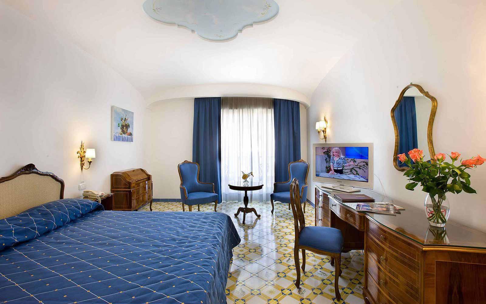 Deluxe Room at the Grand Hotel La Favorita