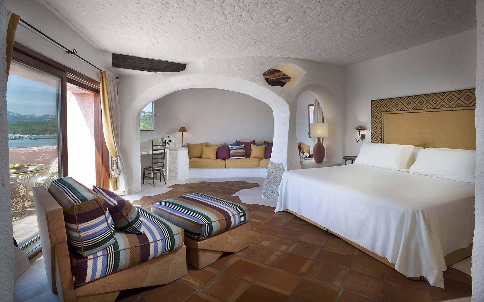 A Premium Suite at the Cala di Volpe
