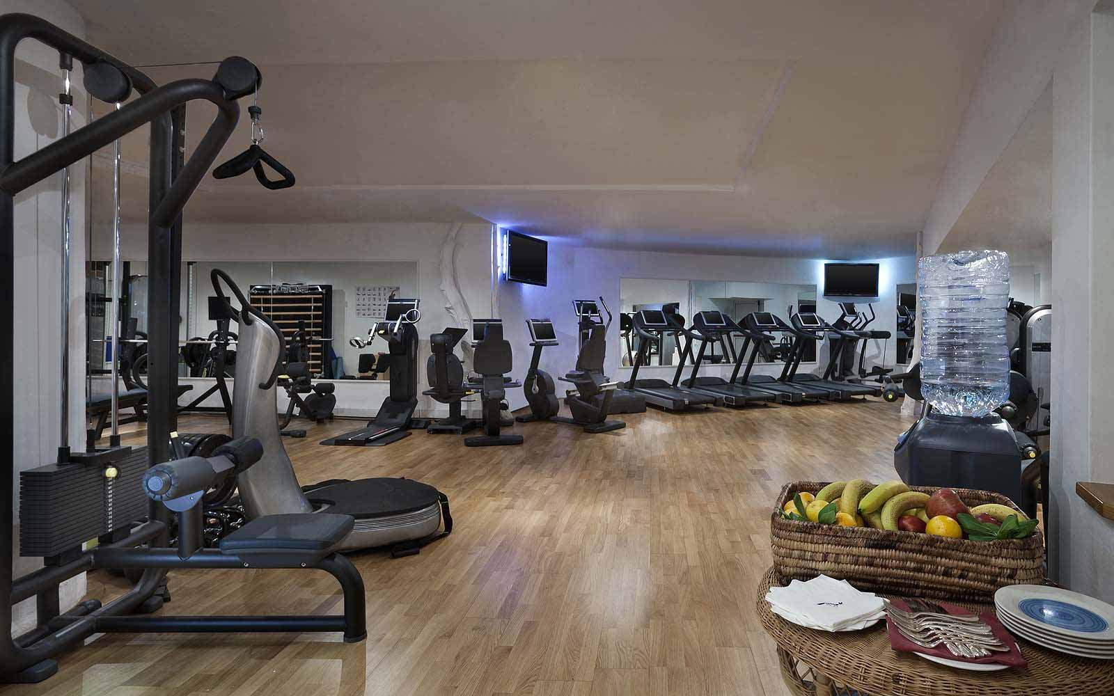 Fitness Centre at the Hotel Cala di Volpe