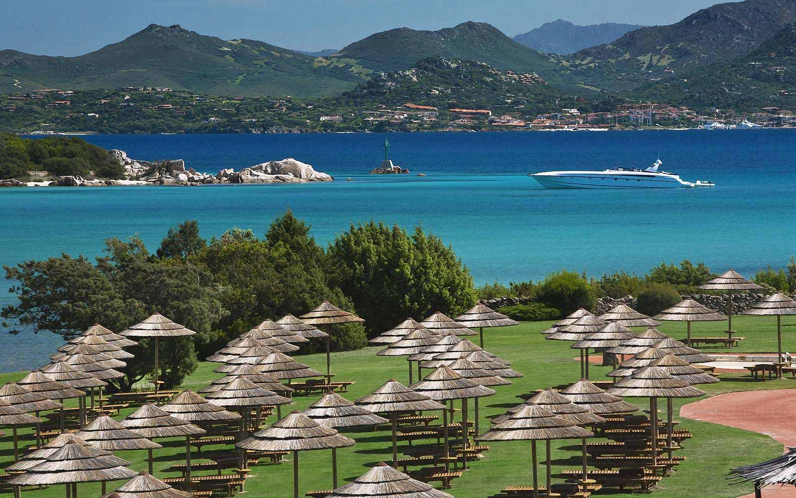 Grounds of the Hotel Cala di Volpe