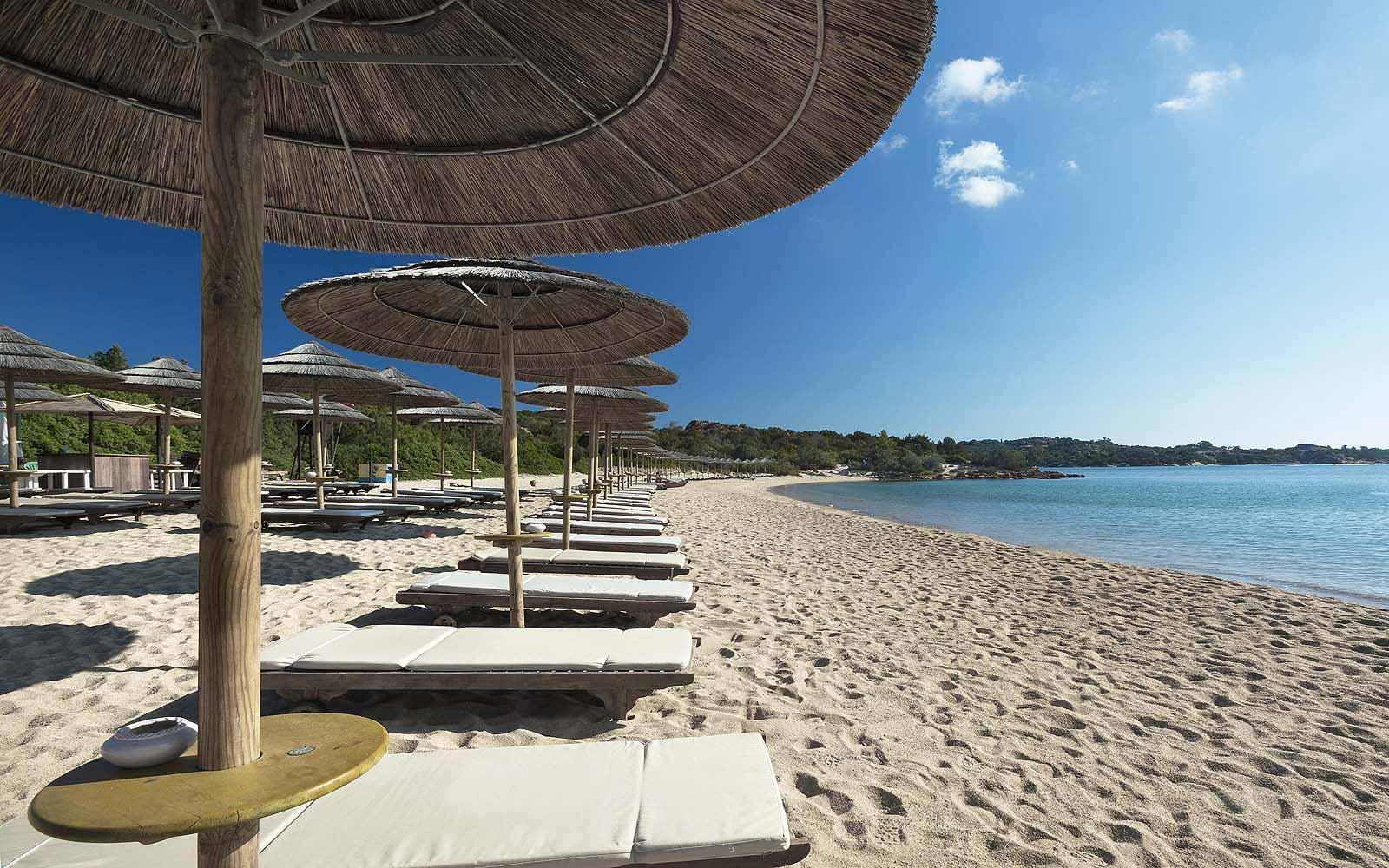 Beach at Hotel Cala di Volpe
