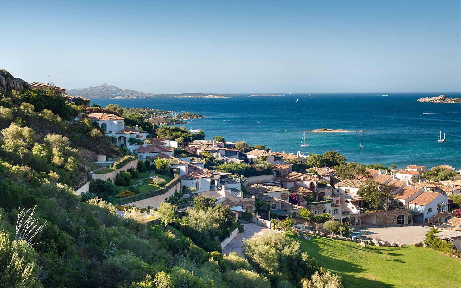 Panoramic view at Hotel Relais Villa Del Golfo & Spa