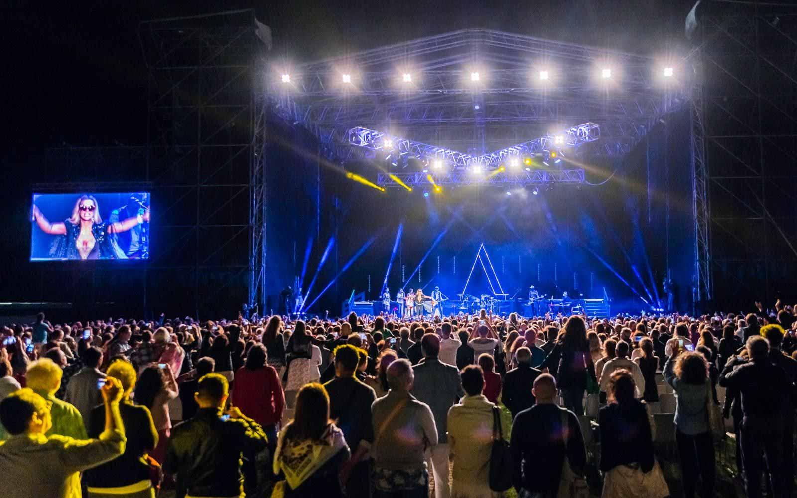 Concerts at the Forte Village Resort