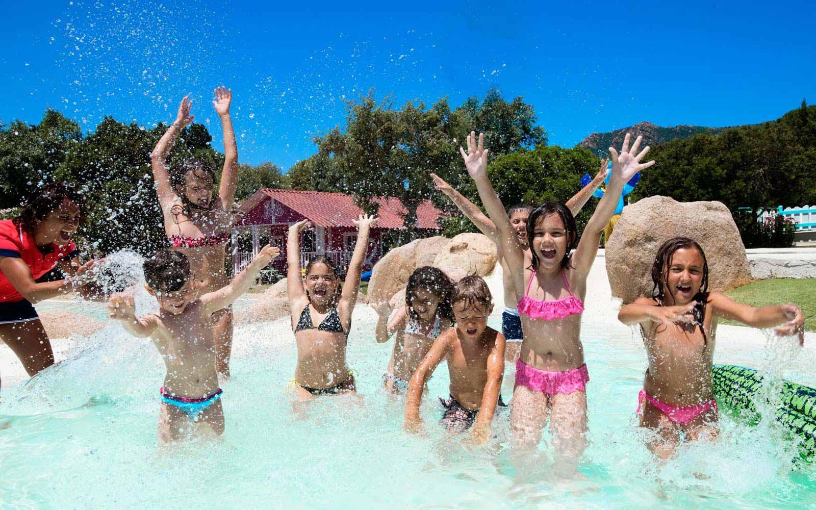Children entertainment at the Forte Village Resort