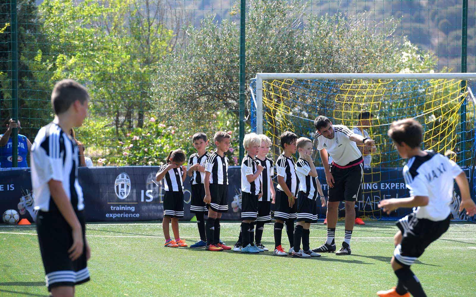 Football academies at the Chia Laguna Resort