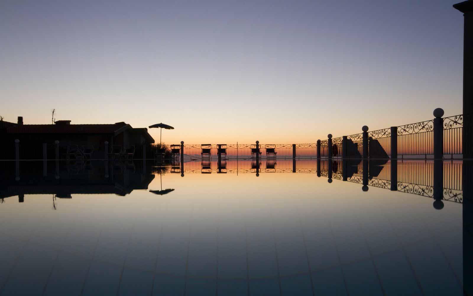 Sunset at Hotel Brancamaria