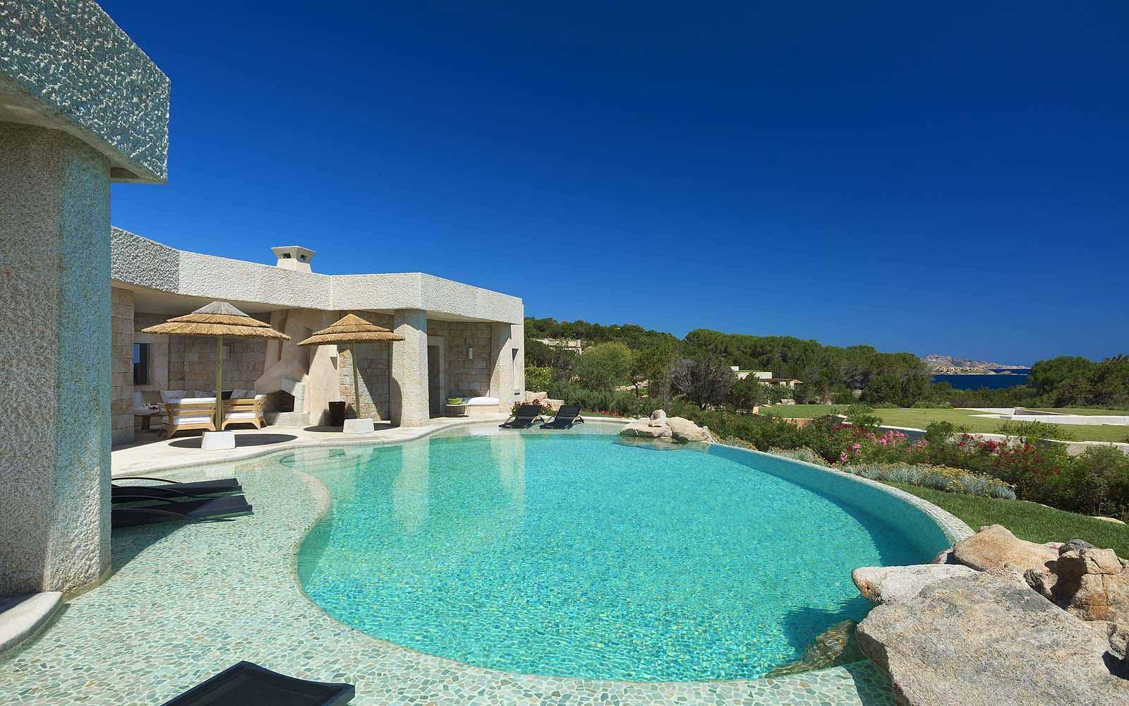 Three Bedroom Villa Shardana with private pool at the Hotel Pitrizza