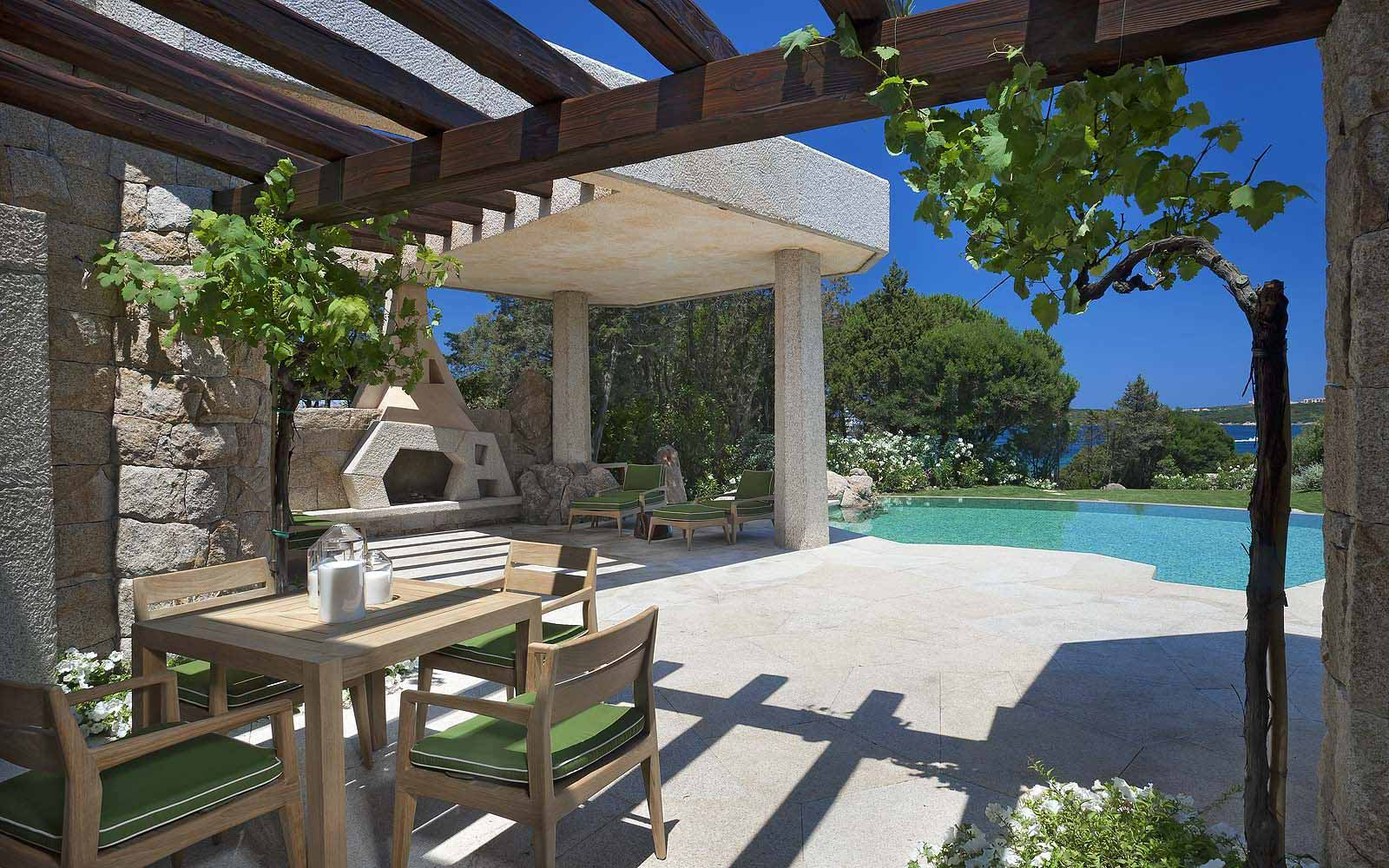 Three Bedroom Villa Bithia with private pool at the Hotel Pitrizza