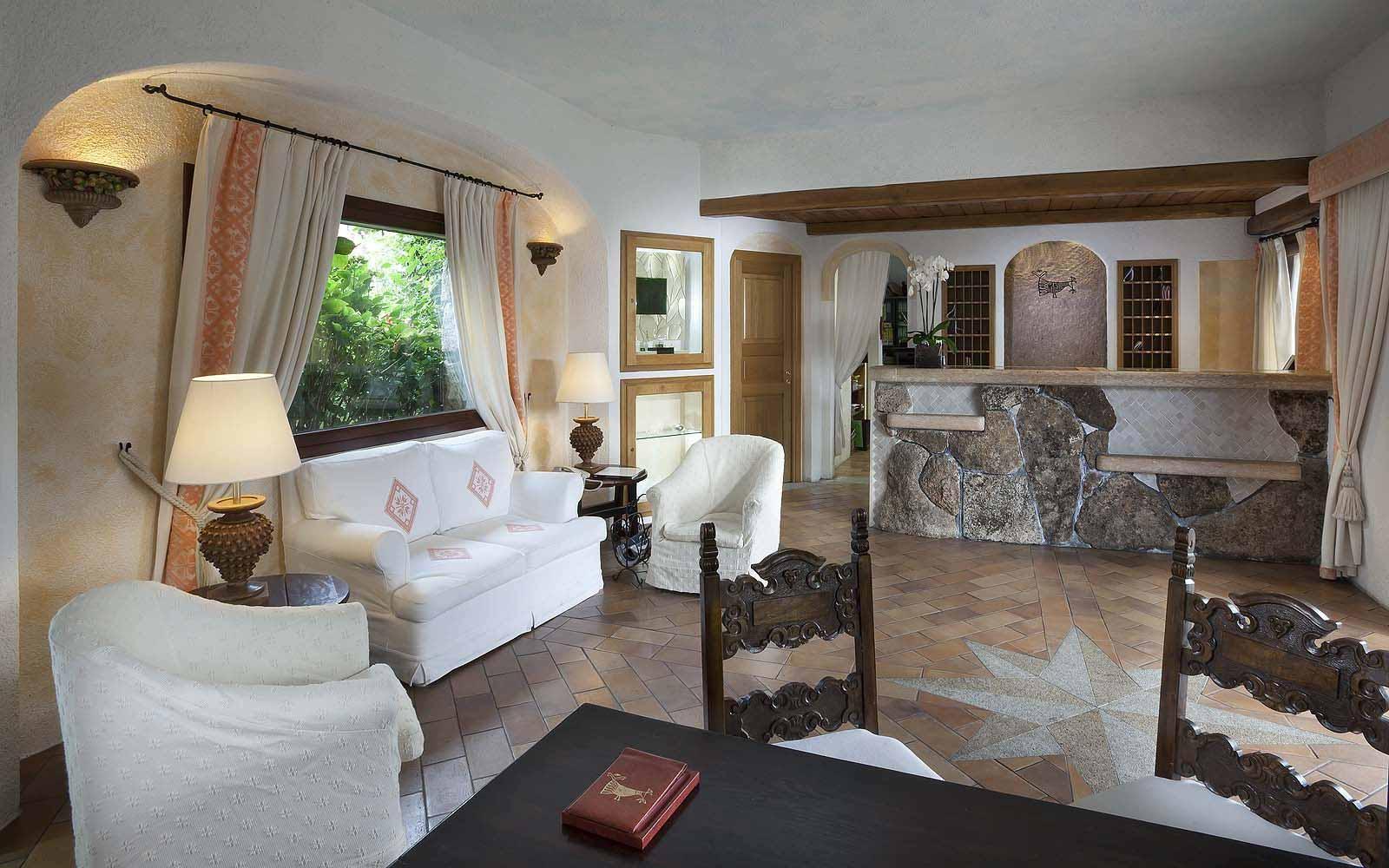 Reception at the Hotel Pitrizza
