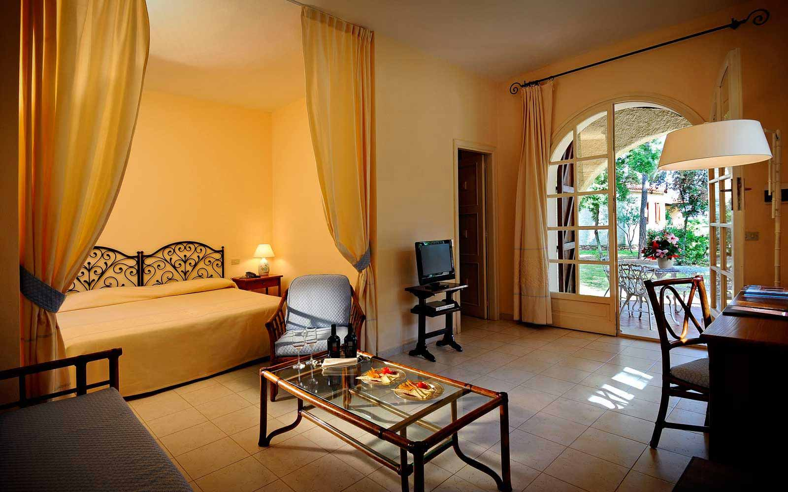 Junior suite cottage at Is Morus Relais