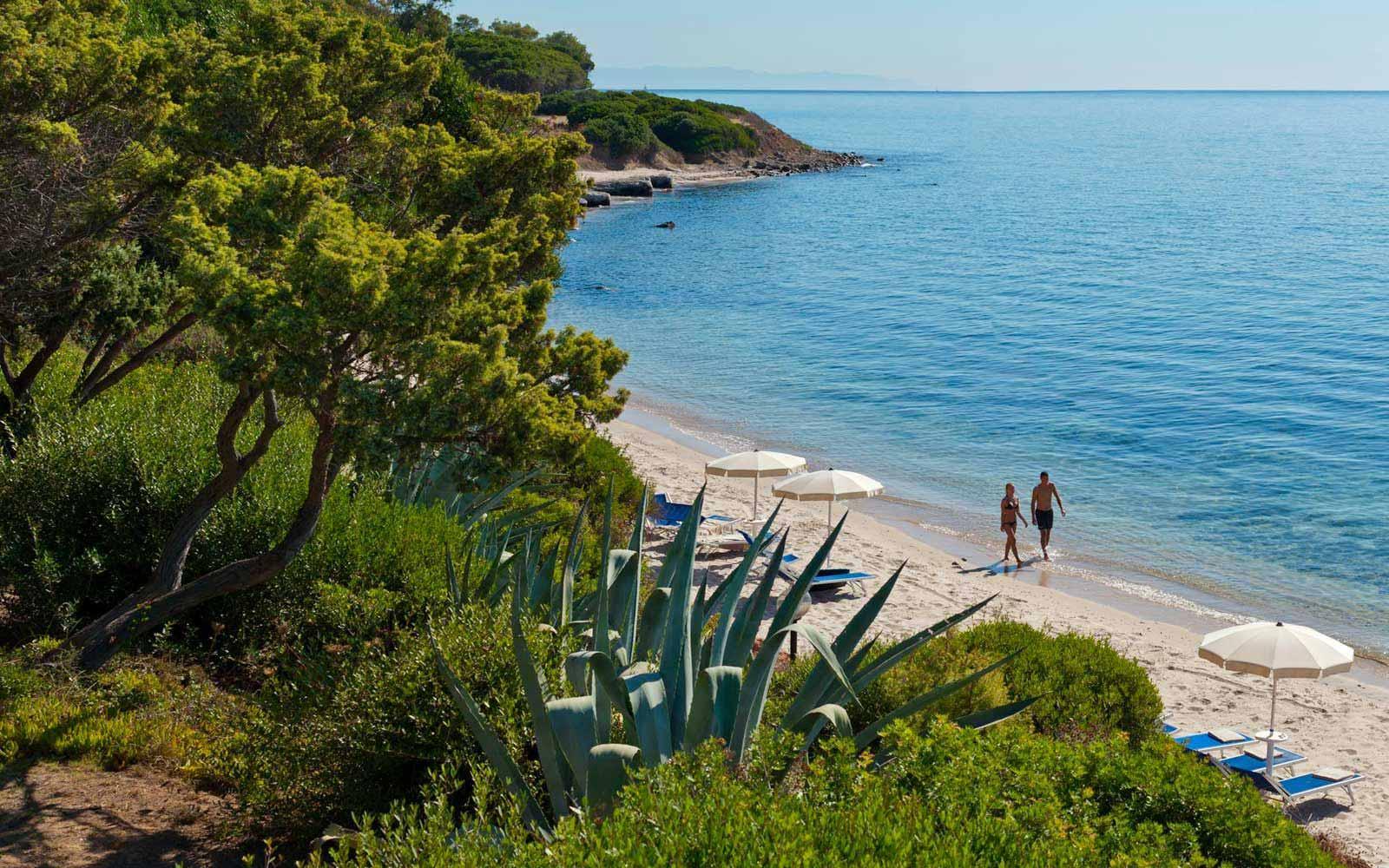 Beach at Is Morus Relais