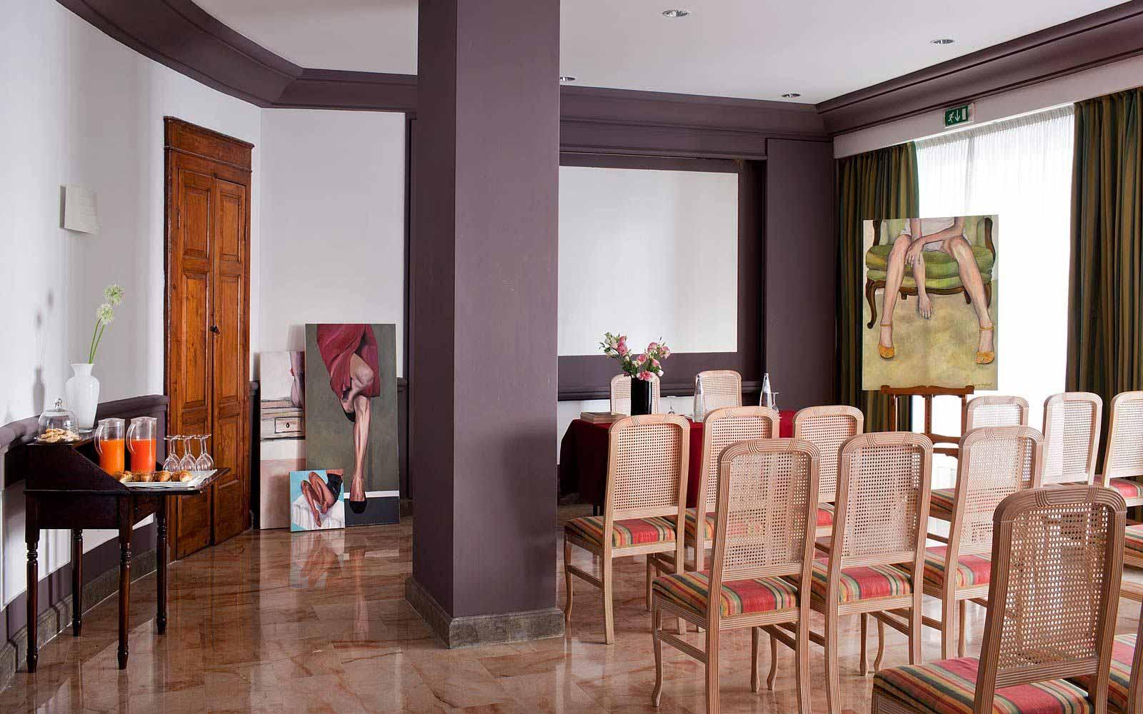 Meeting room at Hotel Principe Di Villafranca