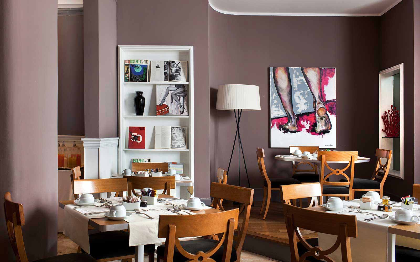 Breakfast room at Hotel Principe Di Villafranca