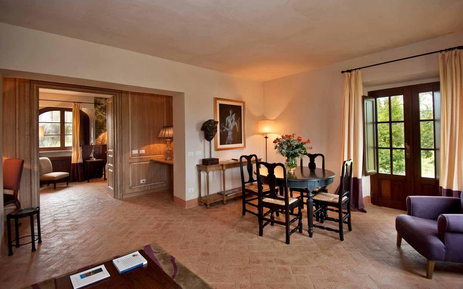 Living room at Villa Lavanda