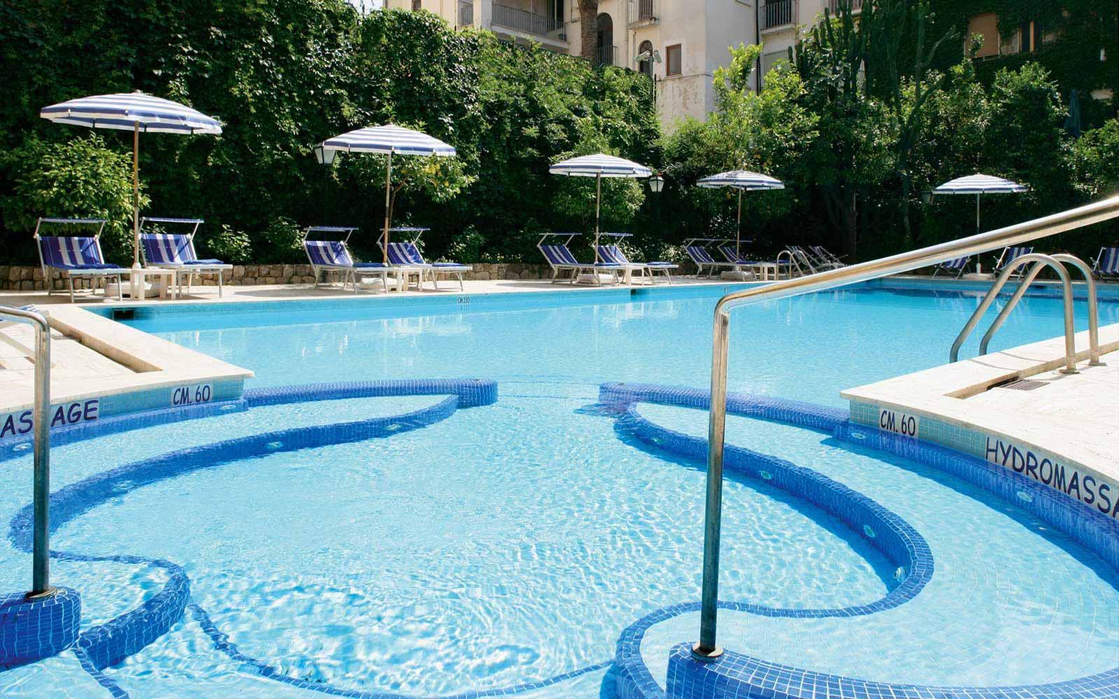Main pool at Grand Hotel de la Ville