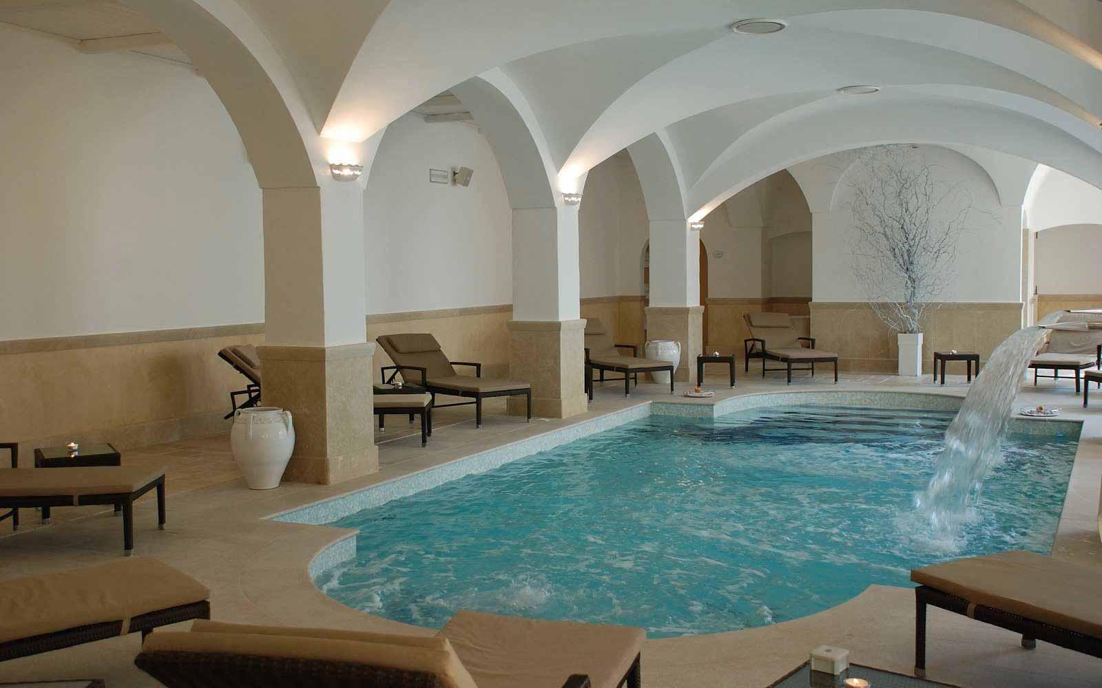 Unica wellness centre at Borgobianco Resort & Spa