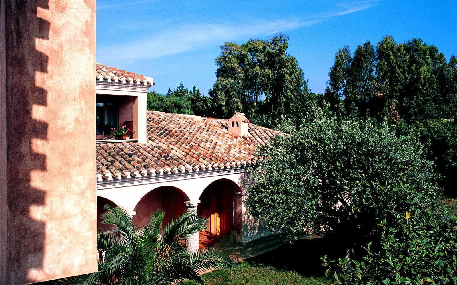 View from villa at Hotel Cala Caterina